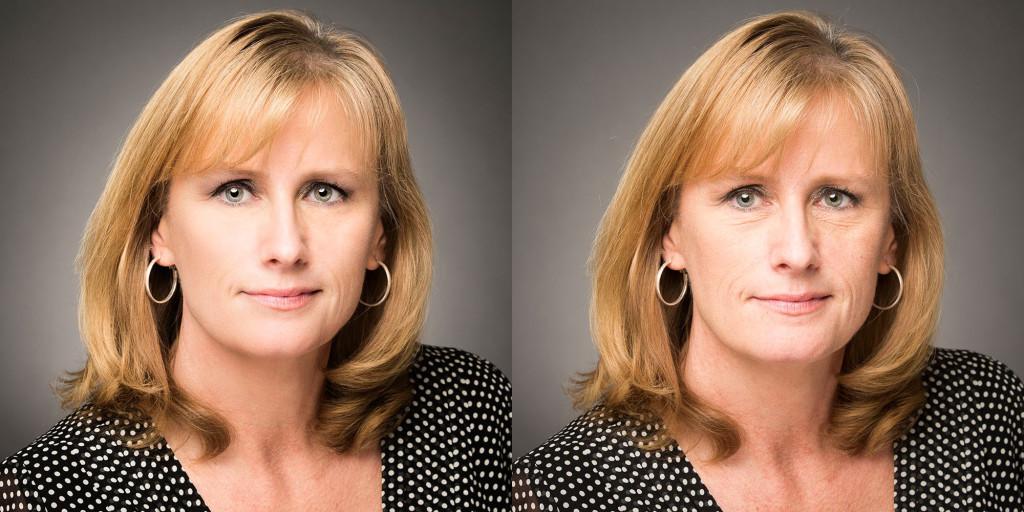 Before and After Editing, Headshot Editing, Before and After Headshot editing